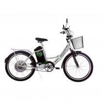 Bicicleta Elétrica Aro 24 Track  Bikes TKX City Plus 350W Branca - Track  Bikes