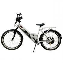 Bicicleta Elétrica Confort FULL 800W 48V 15Ah Cor Branca - Duos