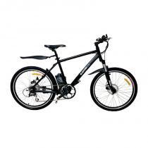 Bicicleta Elétrica ElektraBikes Sport Aro 26 com Suspensão Dianteira e Freios A Disco Preta - Elektra bikes