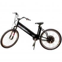 Bicicleta Elétrica MTB 800W 48V 12Ah Preta - Scooter Brasil
