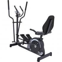 Bicicleta Ergométrica Horizontal + Elíptico Magnético MAG 5000D/Double - Dream Fitness - Dream Fitness