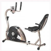 Bicicleta Ergométrica Horizontal Monitor com 5 Funções DROP5000H - Mormaii - Mormaii