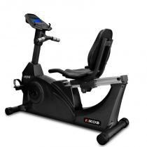 Bicicleta Ergométrica Kikos KR9.6 Bivolt Preta Sensor Cardíaco 12 programas Eletromagnético - Kikos