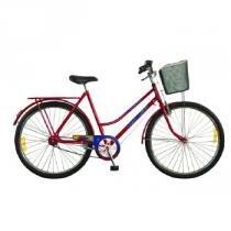 Bicicleta Feminina Aro 26 Tropical 52941-8 Vermelha - Monark - Monark