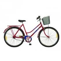 Bicicleta Feminina Aro 26 Tropical 52941-8 Vermelha - Monark - Vermelho - Monark