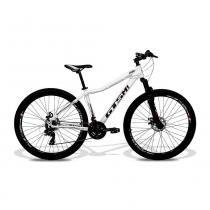Bicicleta Feminina GTS M1 Ride aro 29 Freio a Disco Câmbio Shimano 24 marchas - Branco -