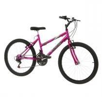 Bicicleta Feminina Pink Aro 24 Chrome Line Pro Tork Ultra - Ultra bikes