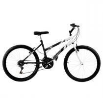 Bicicleta Feminina Preta E Branca Aro 24 18 Marchas Pro Tork Ultra - Ultra bikes