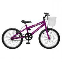Bicicleta Feminina Serena Aro 20 Violeta Master Bike -