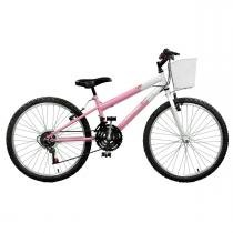Bicicleta Feminina Serena Plus 21V Aro 24 Master Bike -