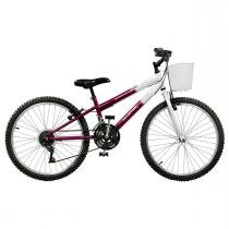 Bicicleta Feminina Serena Plus 21V Aro 24 Master Bike - Master Bike