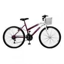 Bicicleta Feminina Serena Plus 21V Aro 26 Master Bike -