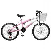 Bicicleta Feminina Serena Plus 7V Aro 20 Master Bike -