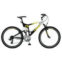 Bicicleta Fischer Aro 26 Altay com 21 Marchas 13407 - Preto e Prata - Fischer