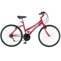 Bicicleta Fischer Aro 26 Runner SX Feminino FM 11984 - Vermelho - Fischer