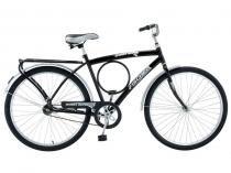 Bicicleta Fischer Barra Super New Aro 26 Masc FREIO MANUAL(FM) Preto - 5652-12018 - Fischer