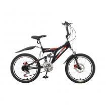 Bicicleta Fischer  Fast Boy Preto Fosco -