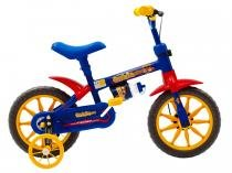 Bicicleta Fischer Ferinha  Azul/Amarelo 1339-11101 - Fischer