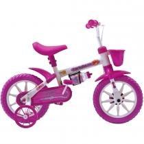 Bicicleta Fischer Infantil Aro 12 Ferinha Kids 1338 - Rosa - Fischer