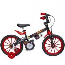 Bicicleta Fischer Infantil  Aro 16 Preta Ferinha Super 17341 - Fischer