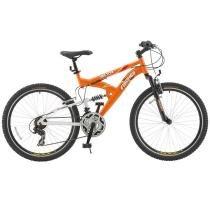 Bicicleta Fischer Vector Full Suspension Aro 26 21 Marchas 13408 - Laranja - Fischer