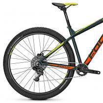 Bicicleta Focus Whistler SL 29 11 V Cinza  Laranja  Verde 2016 - S - Focus