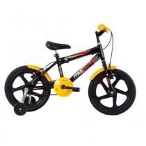 Bicicleta free action aro 16 joy preto brilhante - 04-047.002 -