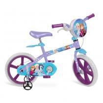 Bicicleta Frozen Disney Aro 14 Roxo - Bandeirante