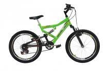 Bicicleta Full FA240 6V Aro 20 Verde Neon - Mormaii - Verde -