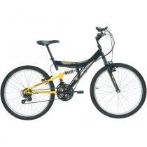 Bicicleta Full Suspension Kanguru Aço Aro 24 Polimet - Polimet