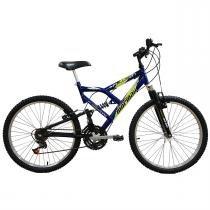 Bicicleta Fullsion Aro 24 18 Marchas Azul 2011868 Mormaii -