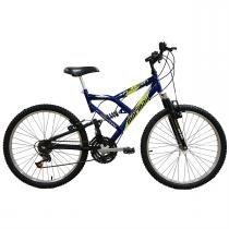 Bicicleta Fullsion Aro 24 18 Marchas Azul 2011868 Mormaii - Mormaii