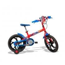 Bicicleta Homem Aranha Aro 16 Vermelha - Caloi -
