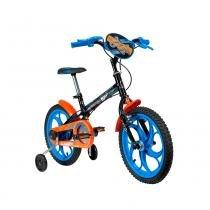 Bicicleta Hot Wheels Aro 16 Preta - Caloi -