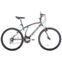 Bicicleta Houston Atlantis Mad S Aro 26 21 Marchas - Quadro de Aço Freio V-Brake