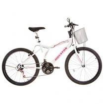 Bicicleta Houston Bristol Peak Aro 24 21 Marchas - Freio V-Brake