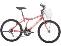 Bicicleta Houston Bristol Peak Aro 24 - 21 Marchas Freio V-Brake