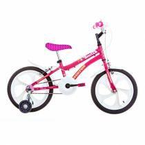 Bicicleta Houston Infantil Tina Rosa Aro 16 - Houston