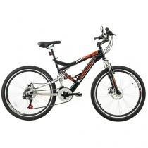Bicicleta Houston Montrey Aro 26 18 Marchas - Suspensão Dianteira Freio a Disco