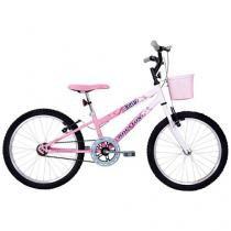 Bicicleta Houston Nina com Cesta  - Aro 20 Monovelocidade