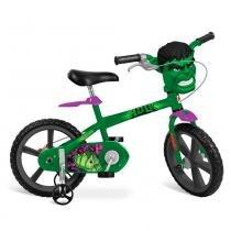 Bicicleta Hulk Aro 14 - Bandeirante -