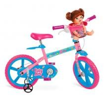 Bicicleta Infantil 14 Polegadas Baby Alive 2253 - Bandeirante -