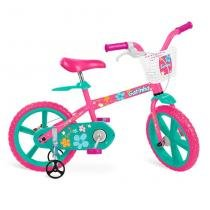Bicicleta Infantil 14 Polegadas Gatinha 3012 - Bandeirante -