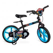 Bicicleta Infantil 14 Polegadas Liga da Justiça 2387 - Bandeirante - Bandeirante