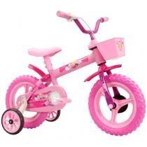 Bicicleta Infantil Arco Íris Aro 12 Track  Bikes - Rosa - Track Bikes