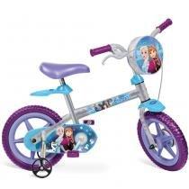 Bicicleta Infantil Aro 12 Frozen Disney 2459 - Bandeirante - Bandeirante