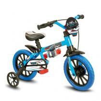 Bicicleta Infantil Aro 12 Modelo Veloz Nathor Menino -