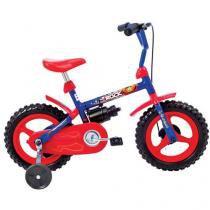 Bicicleta Infantil Aro 12 Verden Rock Azul - com Rodinhas