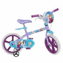 Bicicleta Infantil Aro 14 Frozen Disney Bandeirante -