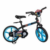 Bicicleta Infantil Aro 14 Liga Da Justiça Bandeirante -